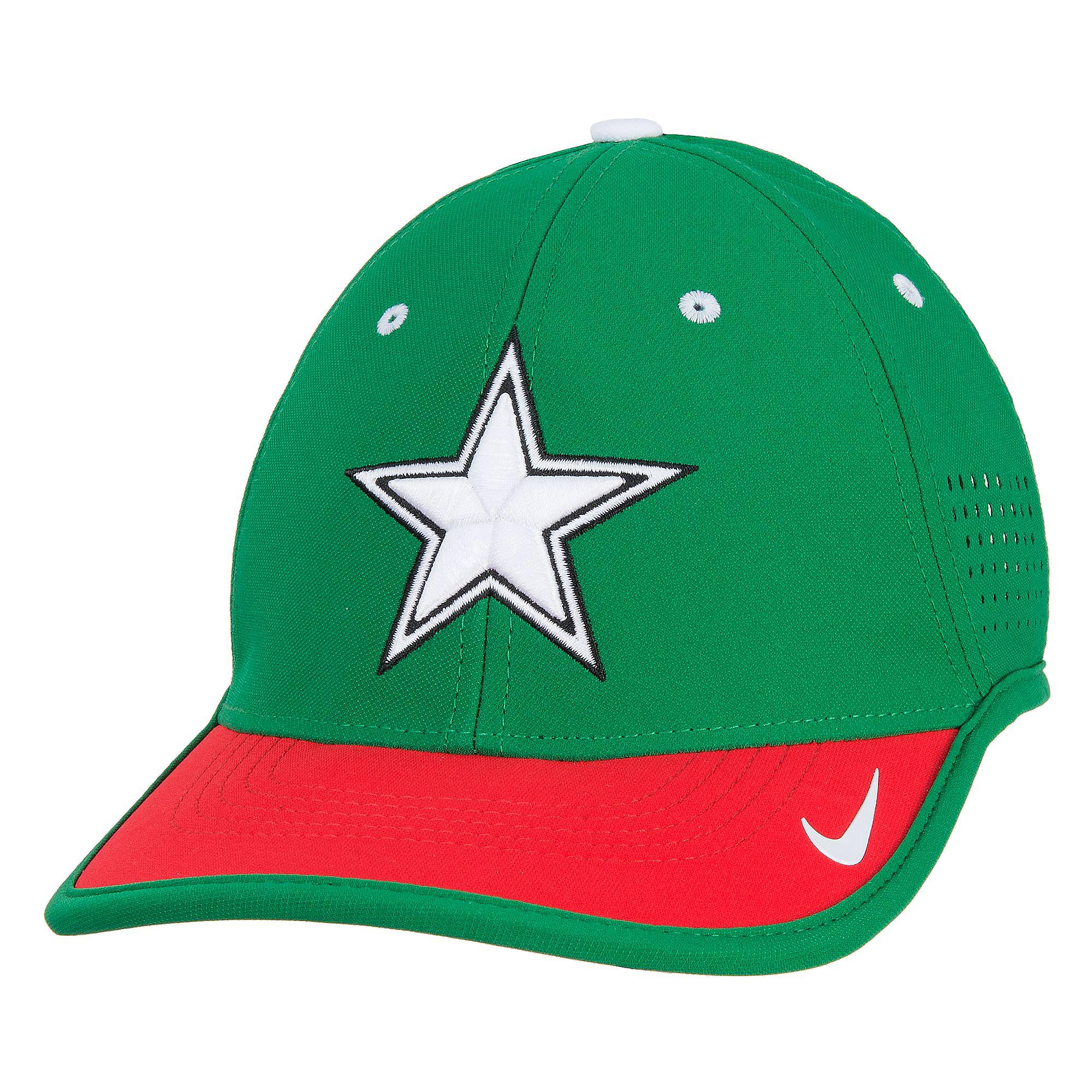 Dallas Cowboys Nike L91 Star Vapor Bill Adjustable Cap