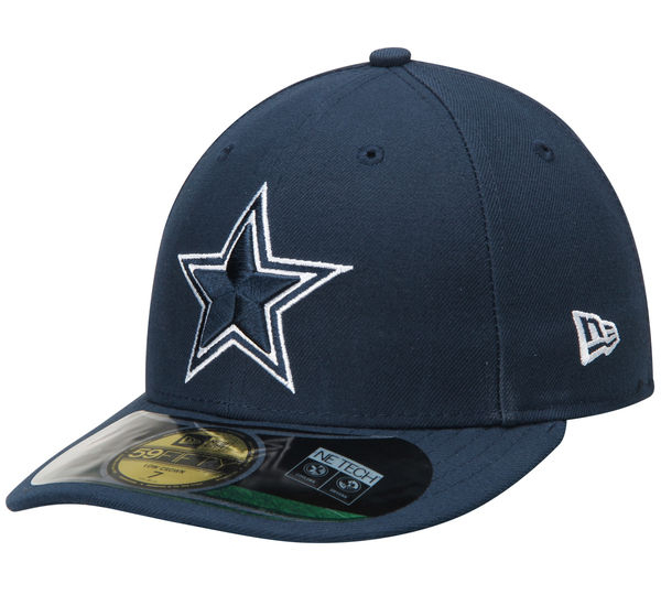 Dallas Cowboys New Era Classic On Field Low Crown 59Fifty Cap