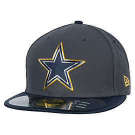 Dallas Cowboys New Era Gold Collection On Field 59Fifty Cap