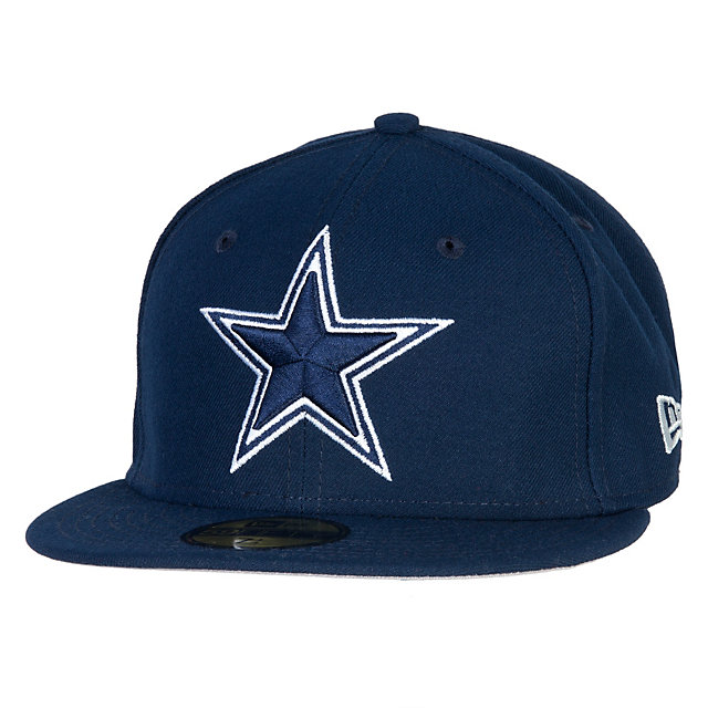 Dallas Cowboys New Era State Clip Fitted 59Fifty Cap