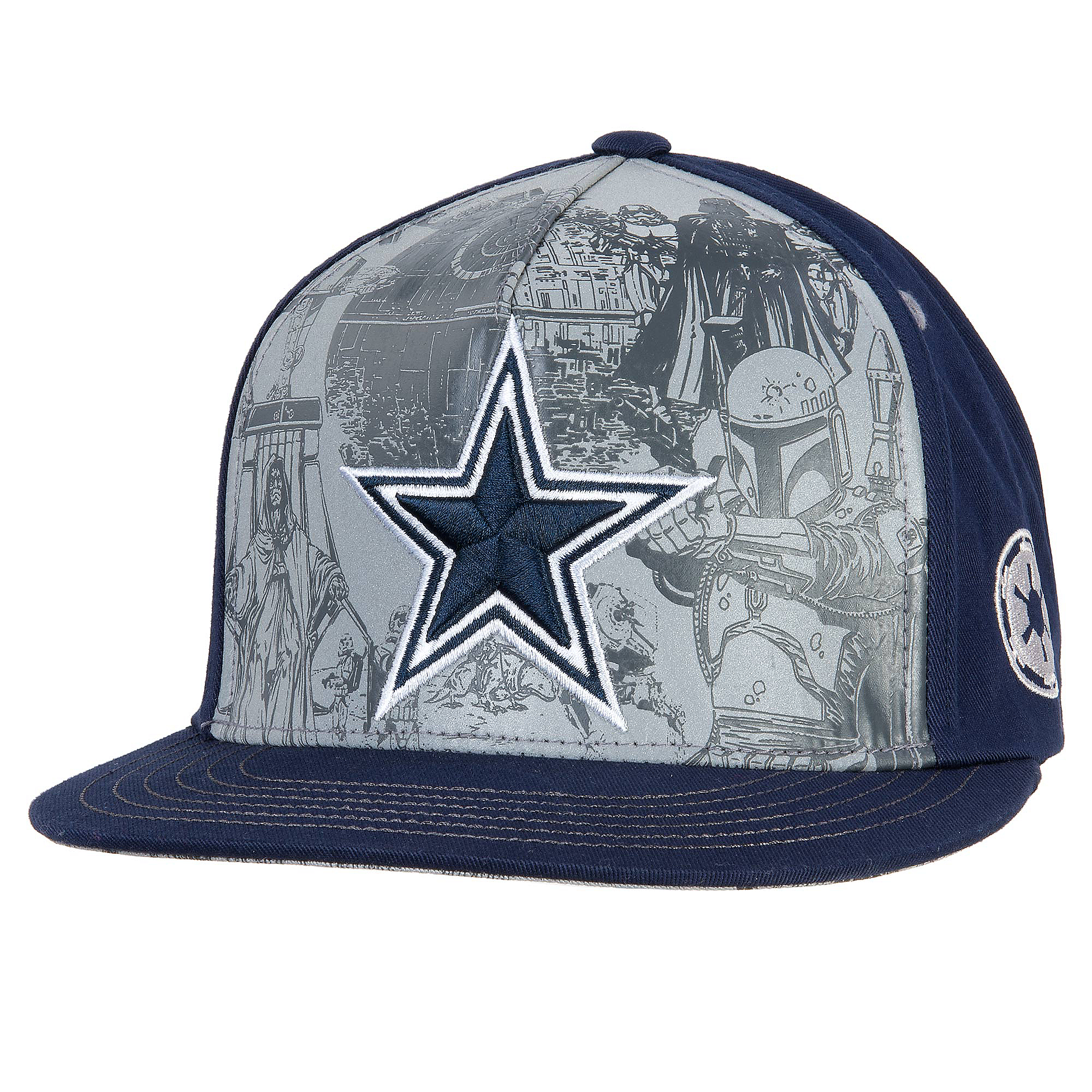 75b0c0564b4 Dallas Cowboys Star Wars Imperial Cap