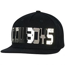 Dallas Cowboys Metal Mold Flat Visor Snapback Cap