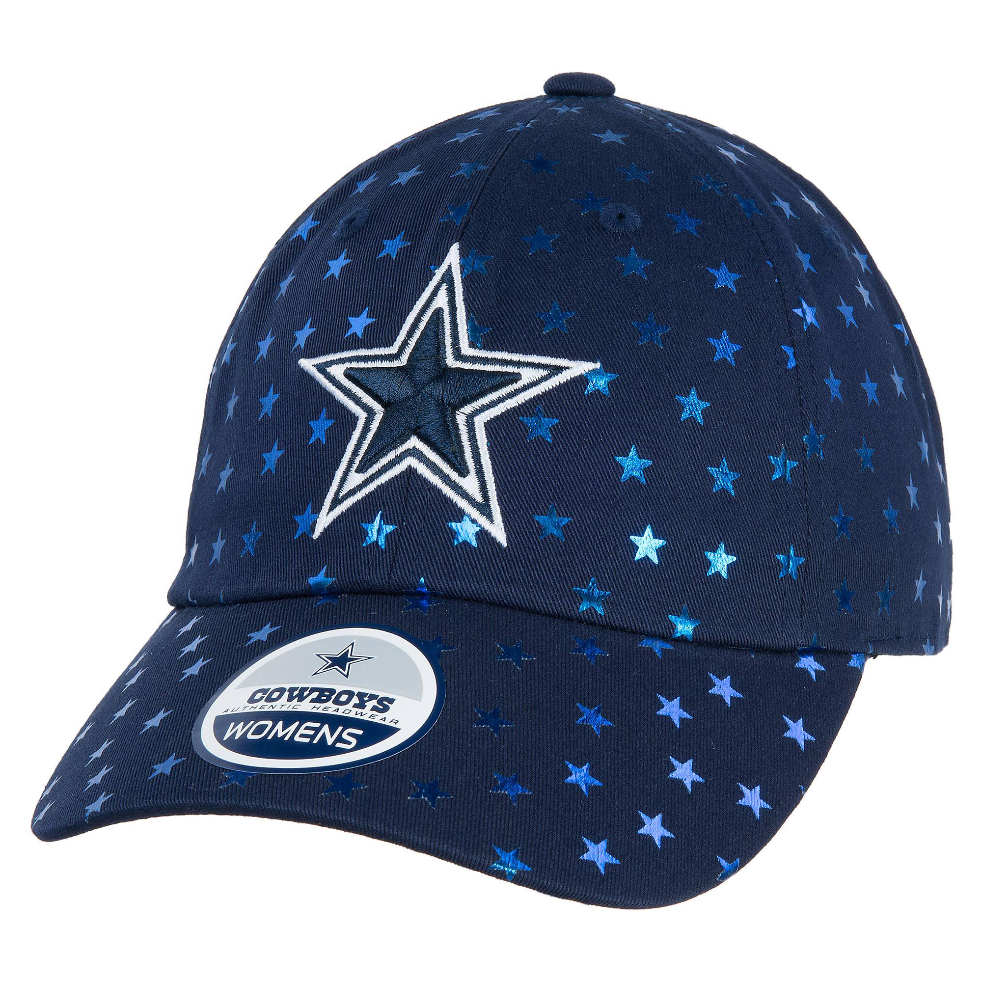 fda6ffdb7ddbd6 Dallas Cowboys Womens Shimmer Cap | Fans United