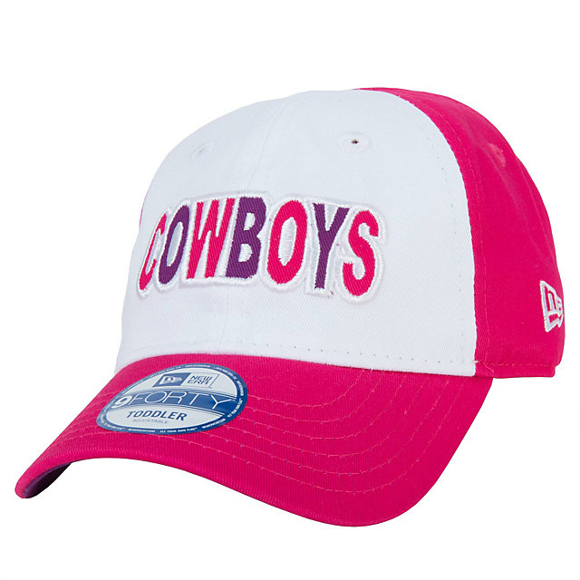 Dallas Cowboys New Era Junior Cutest Fan 9Forty Cap