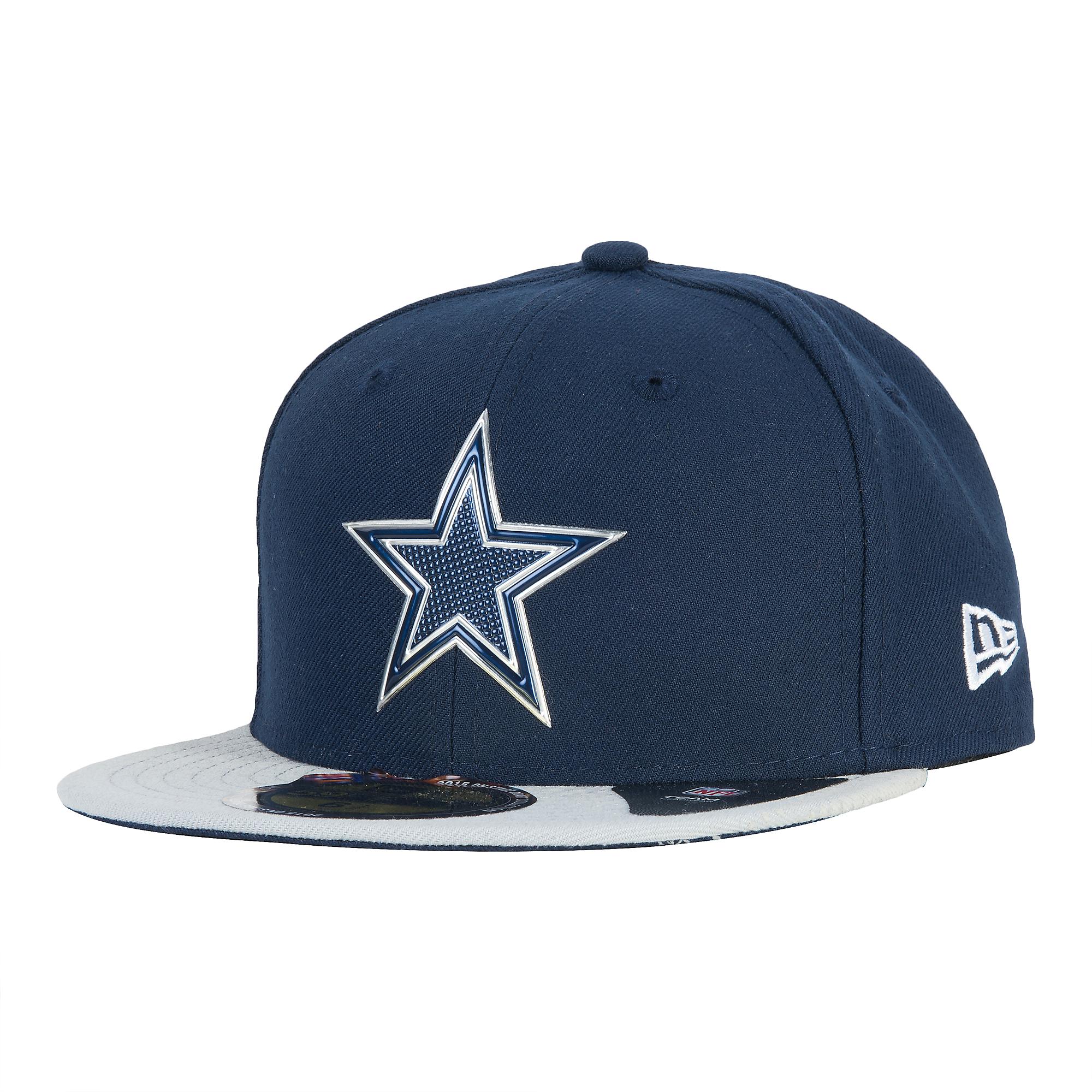 Dallas Cowboys New Era Youth 2015 Onstage Draft 59Fifty  d07ca1c640c7