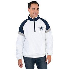Dallas Cowboys Team Half Zip Jacket