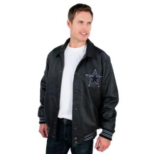 Dallas Cowboys PU Varsity Jacket