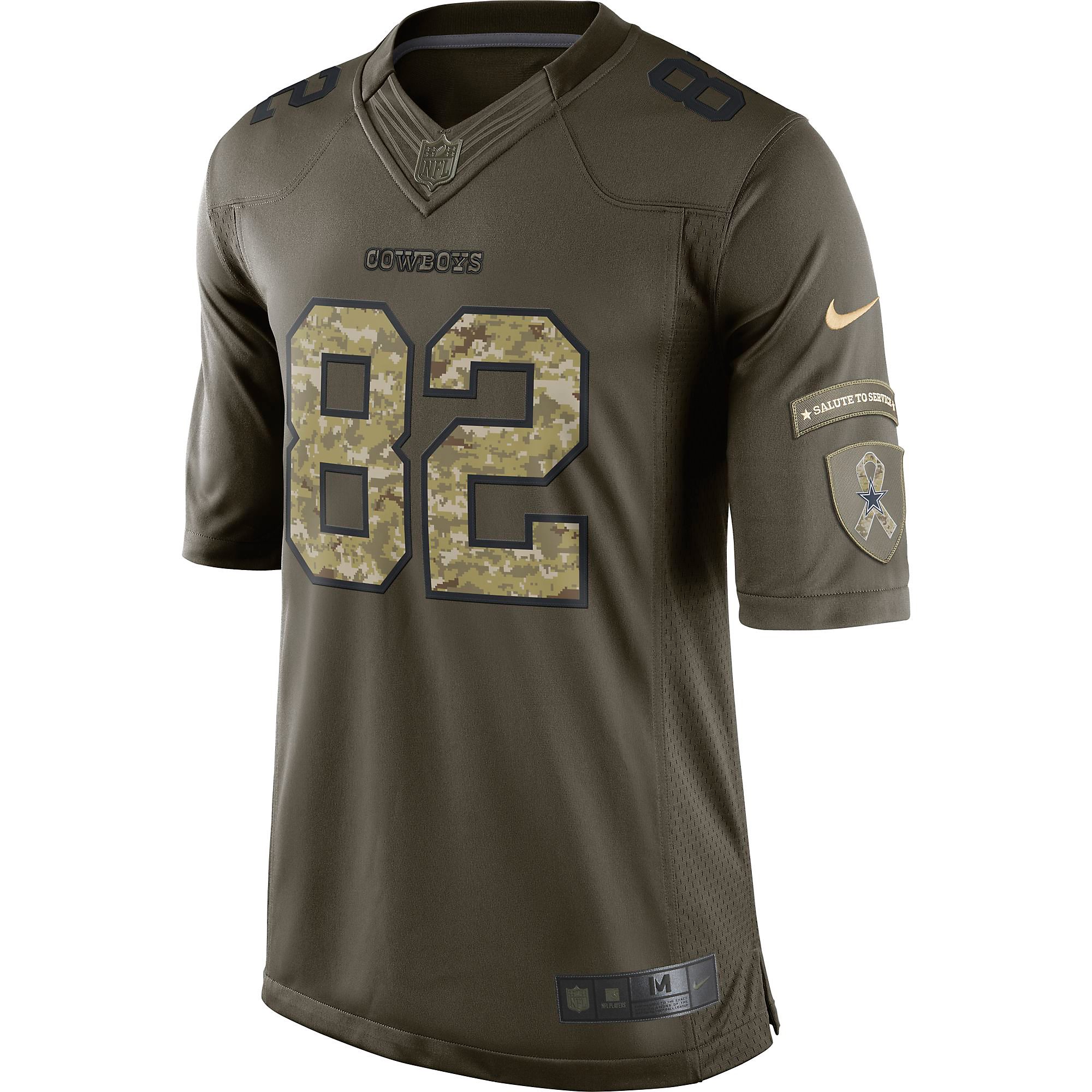 ... Dallas Cowboys Jason Witten  82 Nike Limited Salute To Service Jersey  ... b497cc7c4