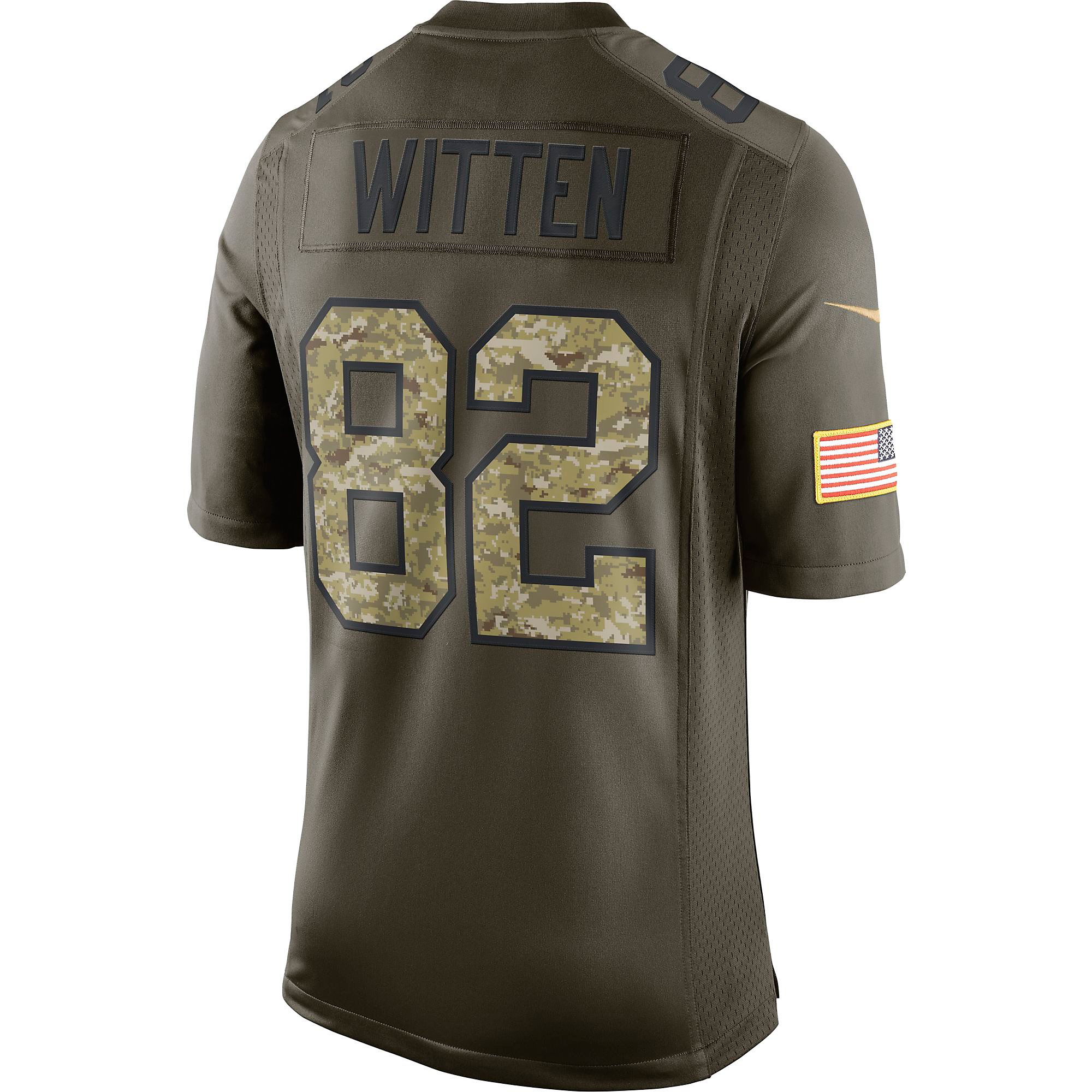 Dallas Cowboys Jason Witten  82 Nike Limited Salute To Service Jersey 4da2e258a