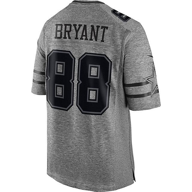 outlet store c06d5 79fe9 dez bryant mens limited jersey 88 dallas cowboys gridiron gray
