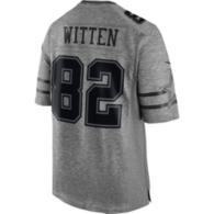 Dallas Cowboys Jason Witten #82 Nike Gridiron Grey Jersey