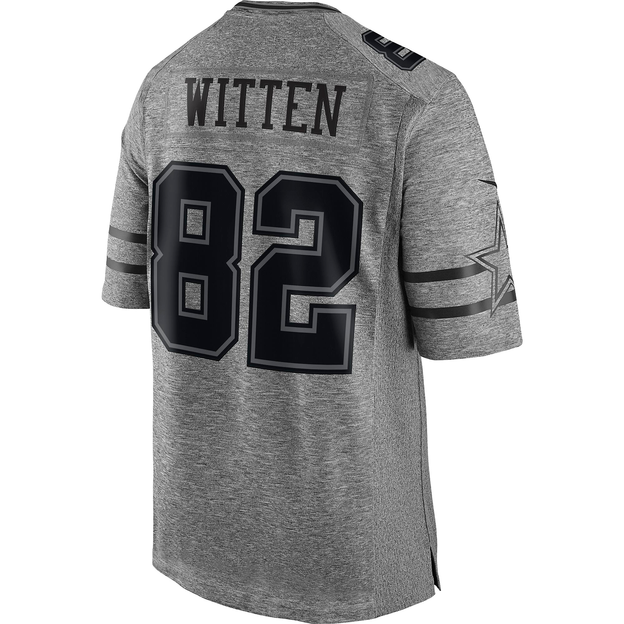 brand new fc1f9 703cc Dallas Cowboys Jason Witten #82 Nike Gridiron Grey Jersey | Fans United