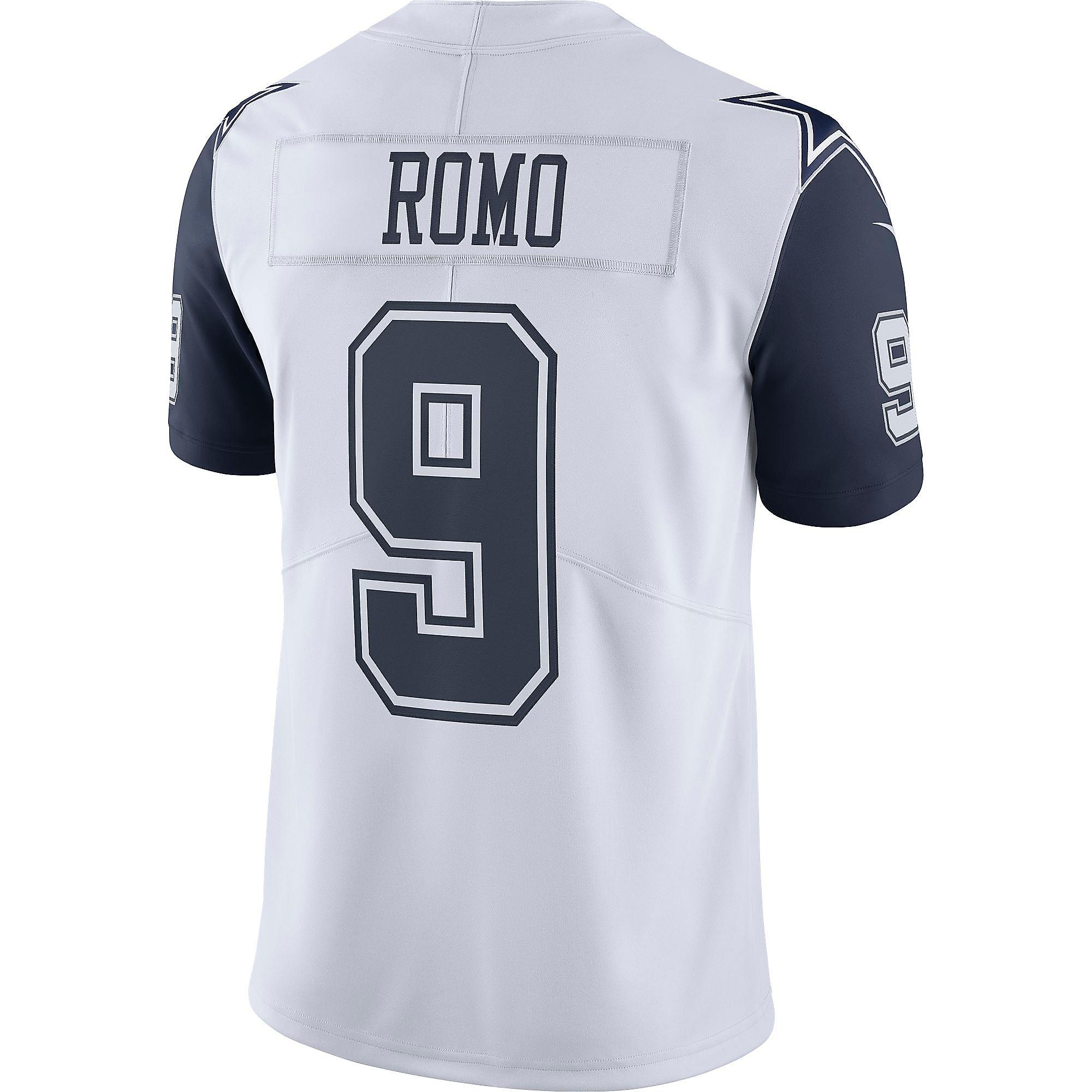 c87989447 Dallas Cowboys Tony Romo  9 Nike XC1 Color Rush Jersey