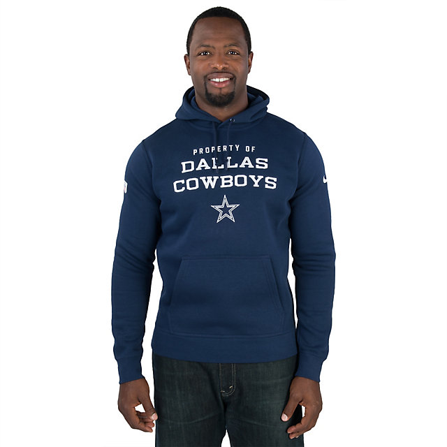 Dallas Cowboys Nike Stadium Classic Club Fleece PO Hoody