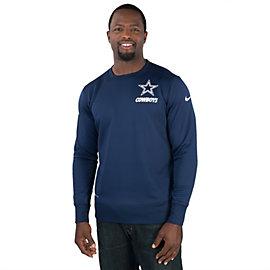 Dallas Cowboys Nike Sideline KO Fleece Crew