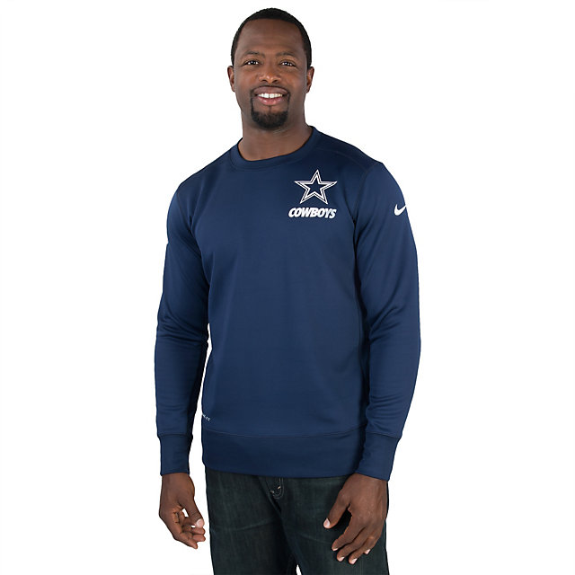 Dallas Cowboys Nike Sideline KO Fleece Crew