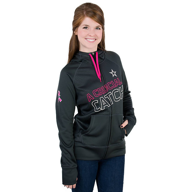 Dallas Cowboys Nike Womens BCA KO Full Zip Hoody