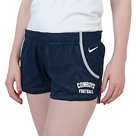 Dallas Cowboys Nike Womens Stadium Mesh Shorts