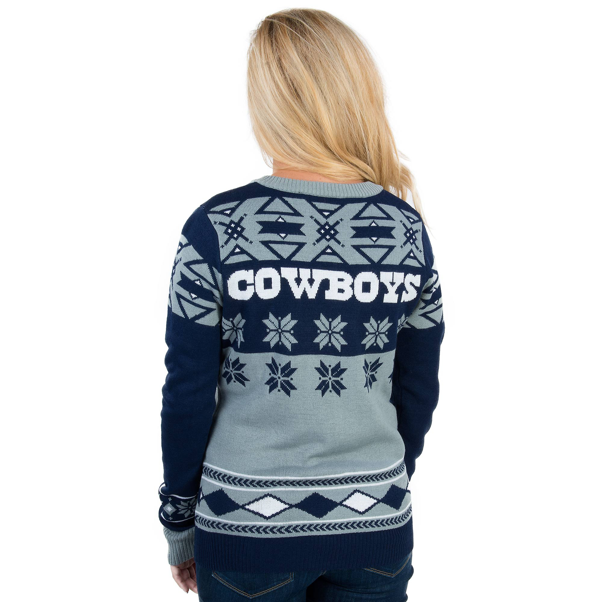 on sale 7c8d3 f6428 Dallas Cowboys Womens Ugly Sweater | Fans United