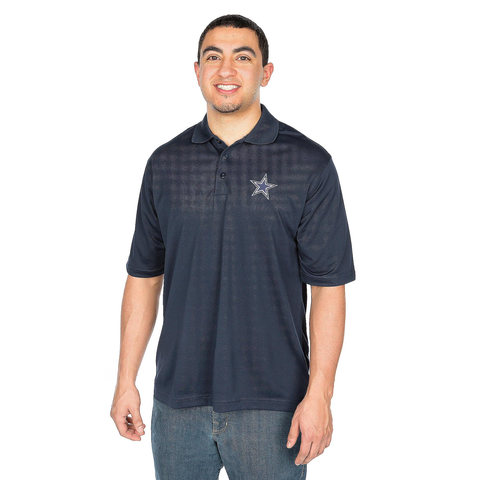 Dallas Cowboys Antigua Pique Xtra-Lite Polo
