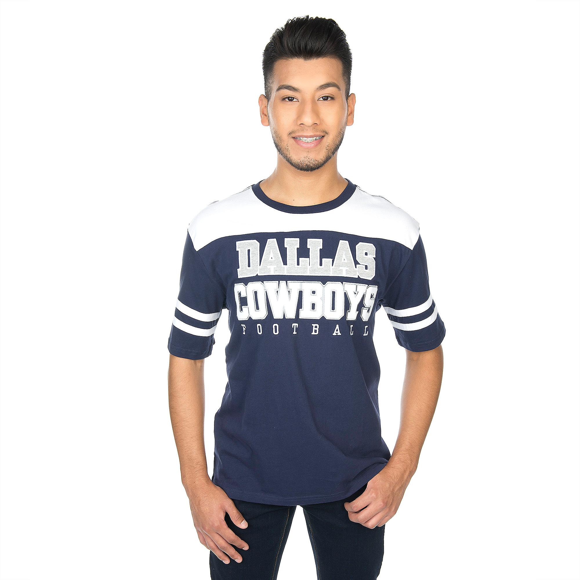 Dallas Cowboys Hanks Short Sleeve Colorblock Tee