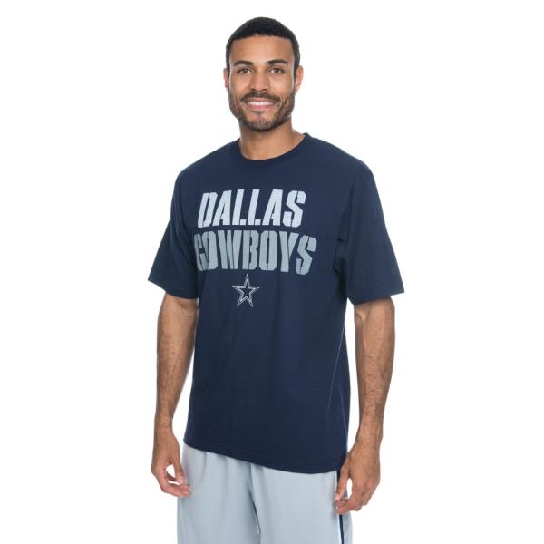 Dallas Cowboys Stencil Stack Tee