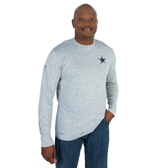 Dallas Cowboys Nike Dri-Fit Touch Long Sleeve Tee
