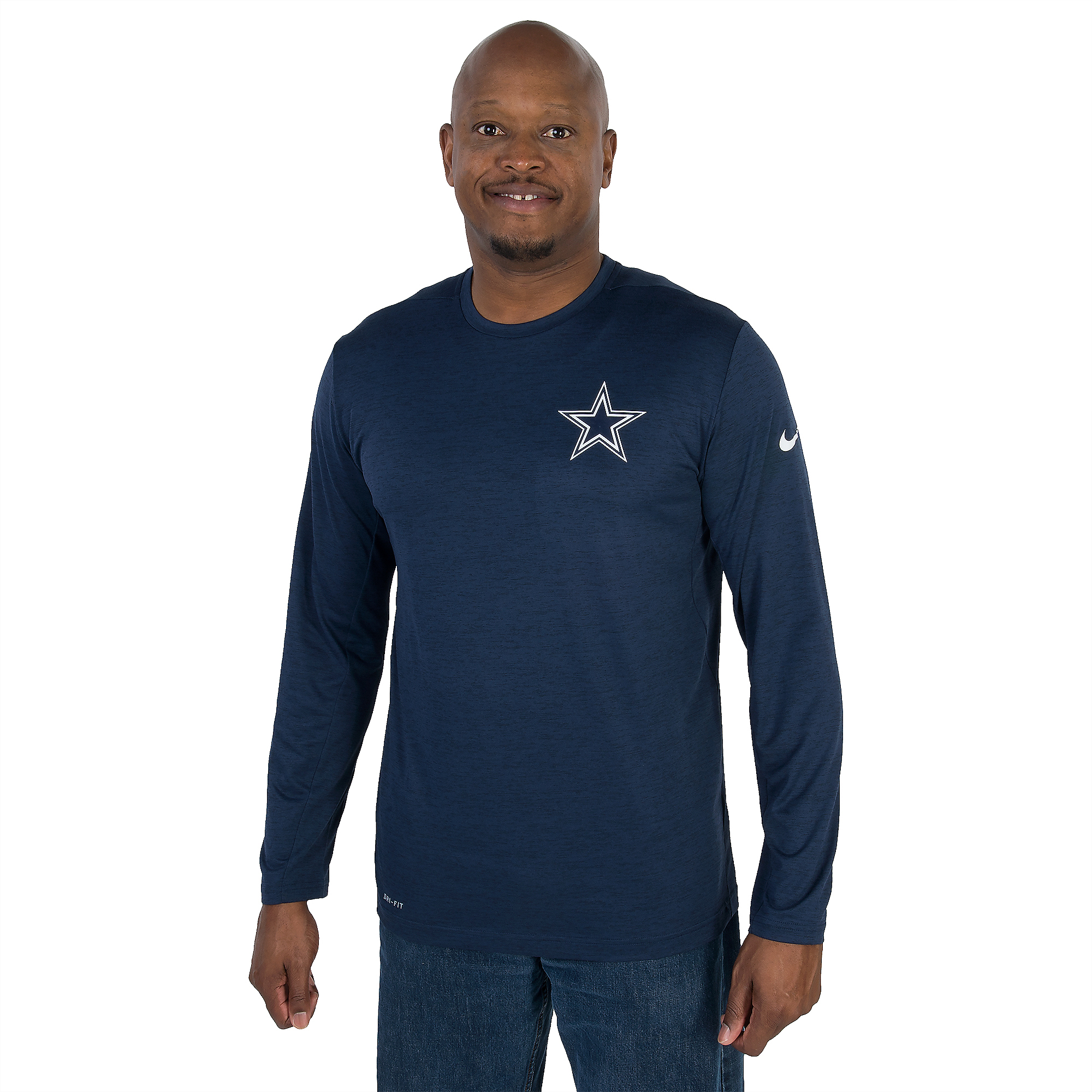 Dallas Cowboys Nike Dri-Fit Touch Long Sleeve Tee