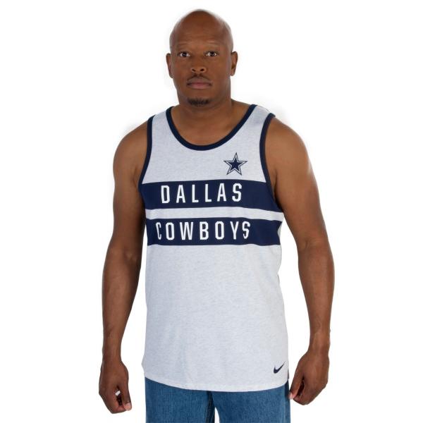Dallas Cowboys Nike Stripe Tank