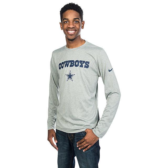 Dallas Cowboys Nike Essential Lockup Long Sleeve Tee