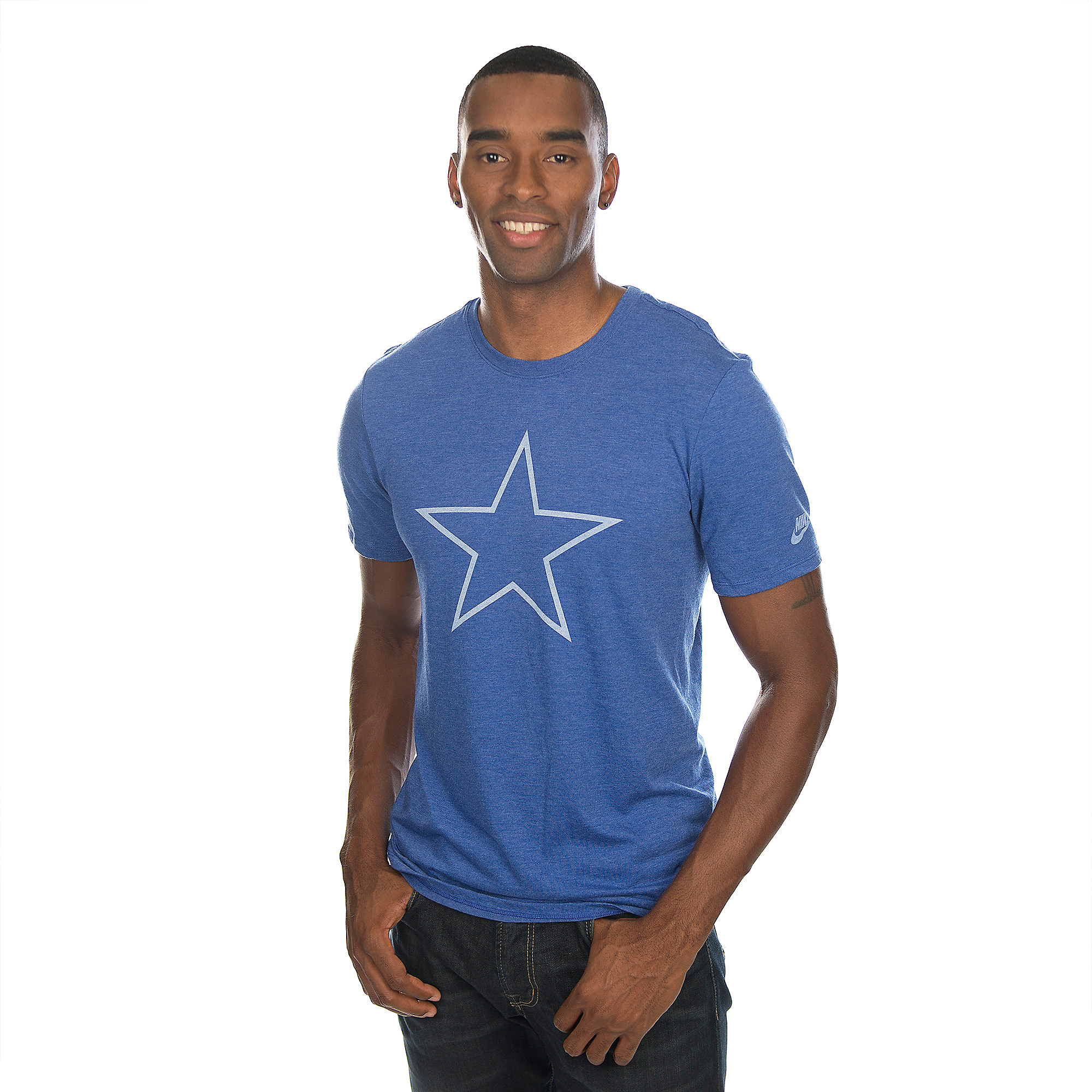 Dallas Cowboys Nike Logo Historic Tee