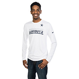 Dallas Cowboys Nike Team Practice Long Sleeve Tee