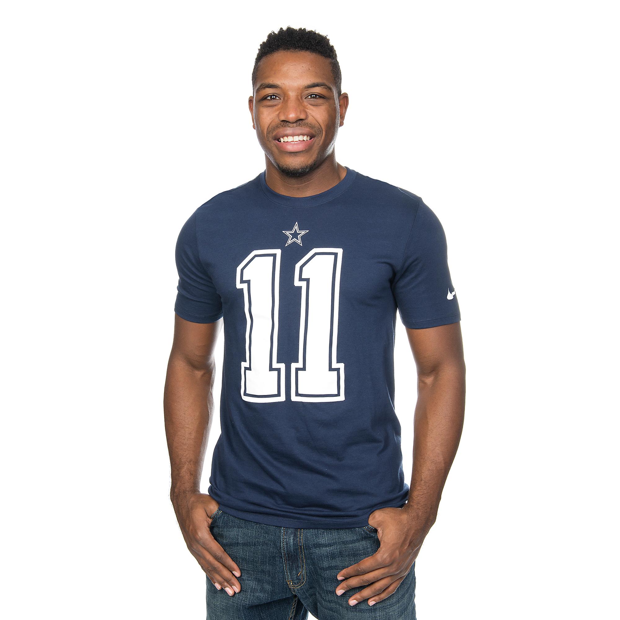 brand new 59704 403de Dallas Cowboys Cole Beasley #11 Nike Player Pride Tee | Fans ...