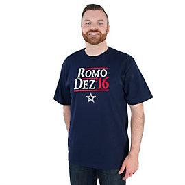 Dallas Cowboys Romo/Dez 16 Campaign Tee