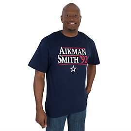 Dallas Cowboys Aikman/Smith 92 Campaign Tee
