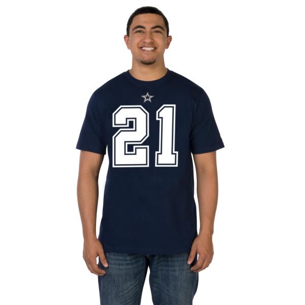 Dallas Cowboys Nike Ezekiel Elliott Name and Number Tee