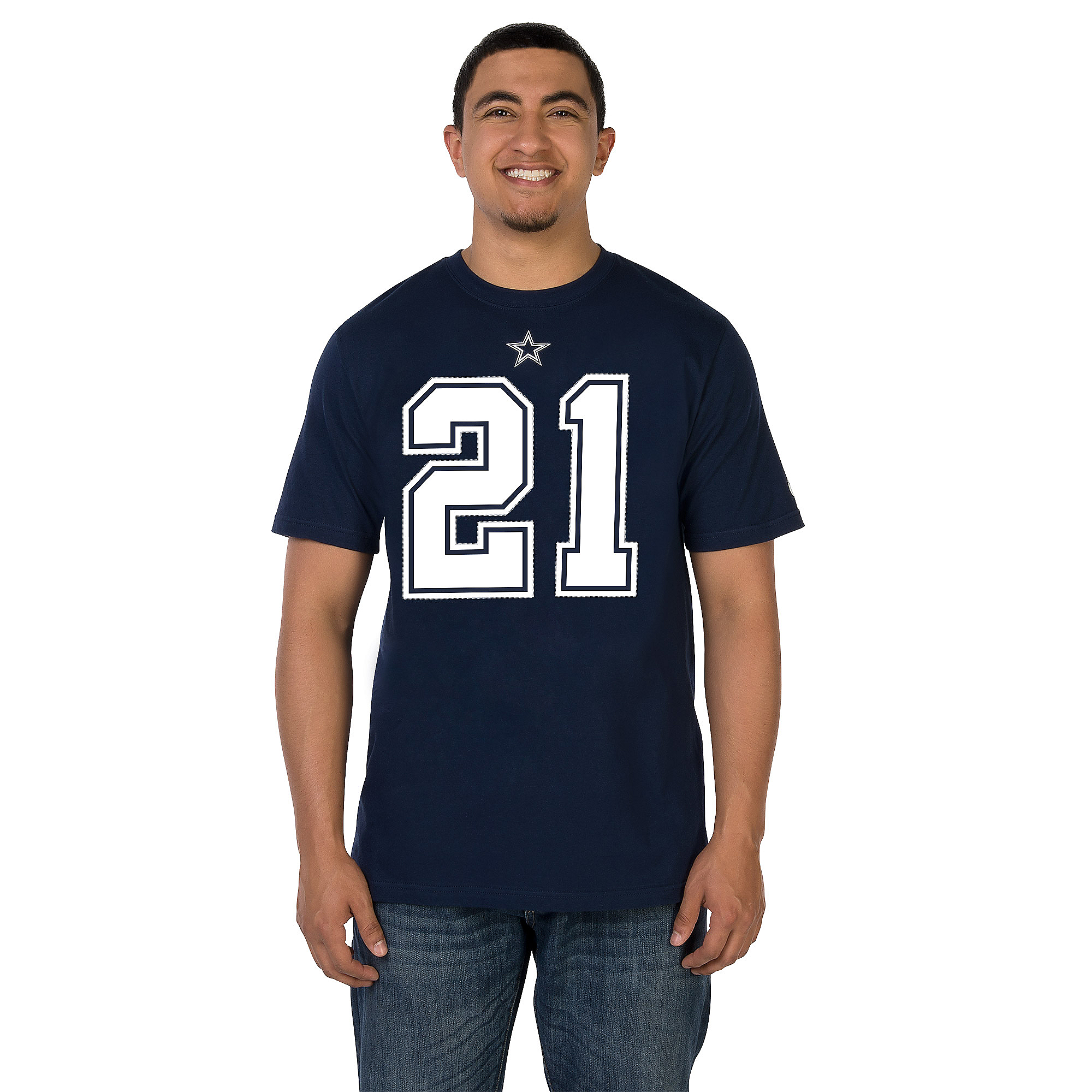 Dallas Cowboys Nike Ezekiel Elliott Name and Number Tee