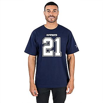 Dallas Cowboys Ezekiel Elliott #21 Player Tee