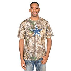 Dallas Cowboys Realtree Logo Premier Tee