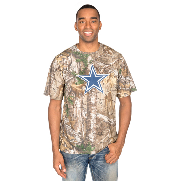 Dallas Cowboys Realtree Logo Premier Tee