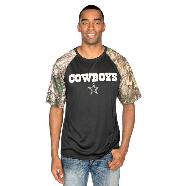 Dallas Cowboys Realtree Wordmark Tee