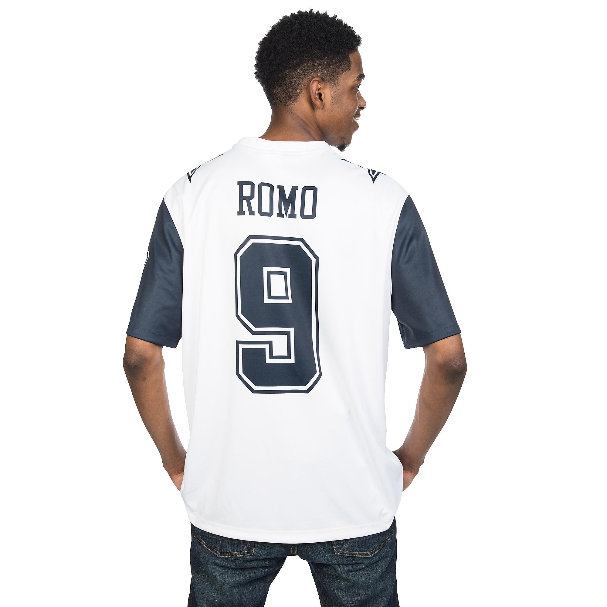 sports shoes 892e0 4e997 Dallas Cowboys Tony Romo #9 Nike XC2 Color Rush Tee   Fans ...