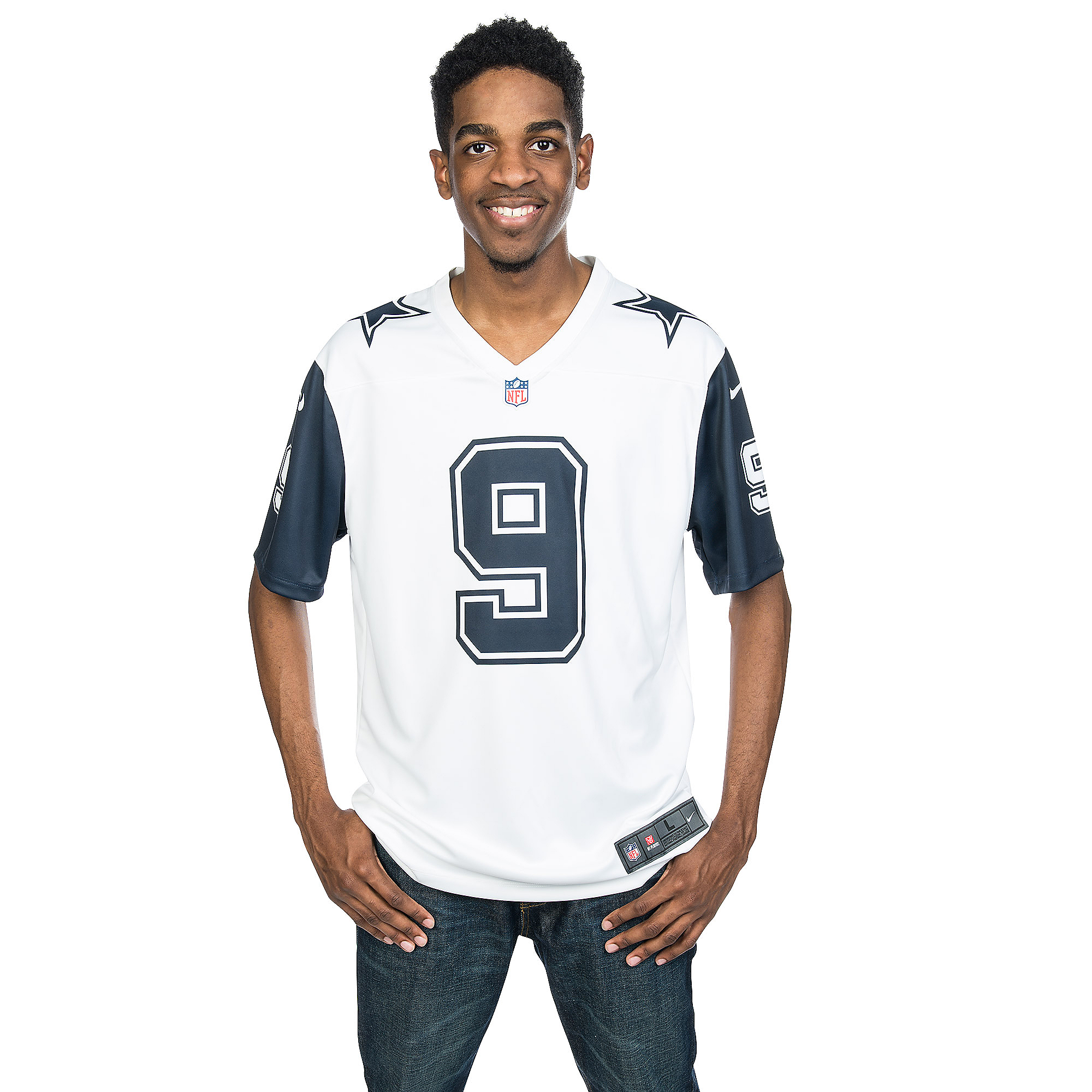 best sneakers 8bc06 87924 Dallas Cowboys Tony Romo #9 Nike XC2 Color Rush Tee