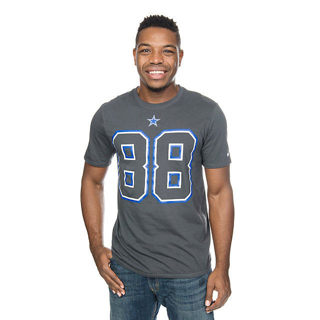 Dallas Cowboys Nike Dez Bryant #88 Travel Name and Number Tee