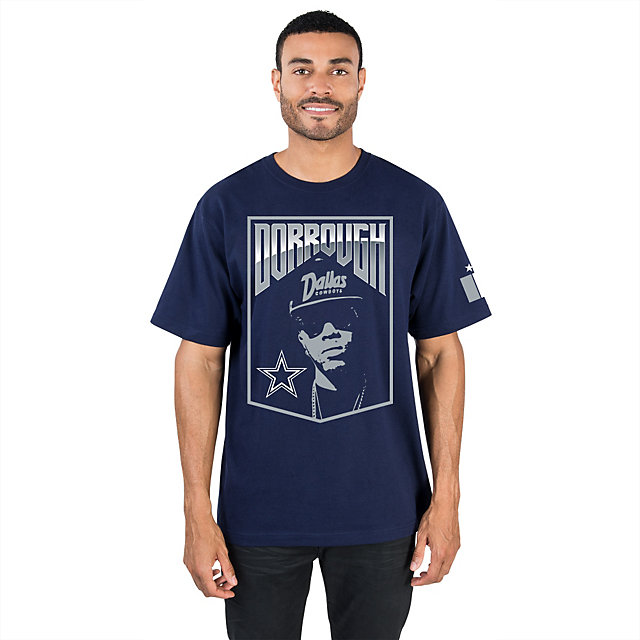 Dallas Cowboys Dorrough Music Short Sleeve Tee