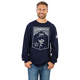 Dallas Cowboys Dorrough Music Long Sleeve Tee