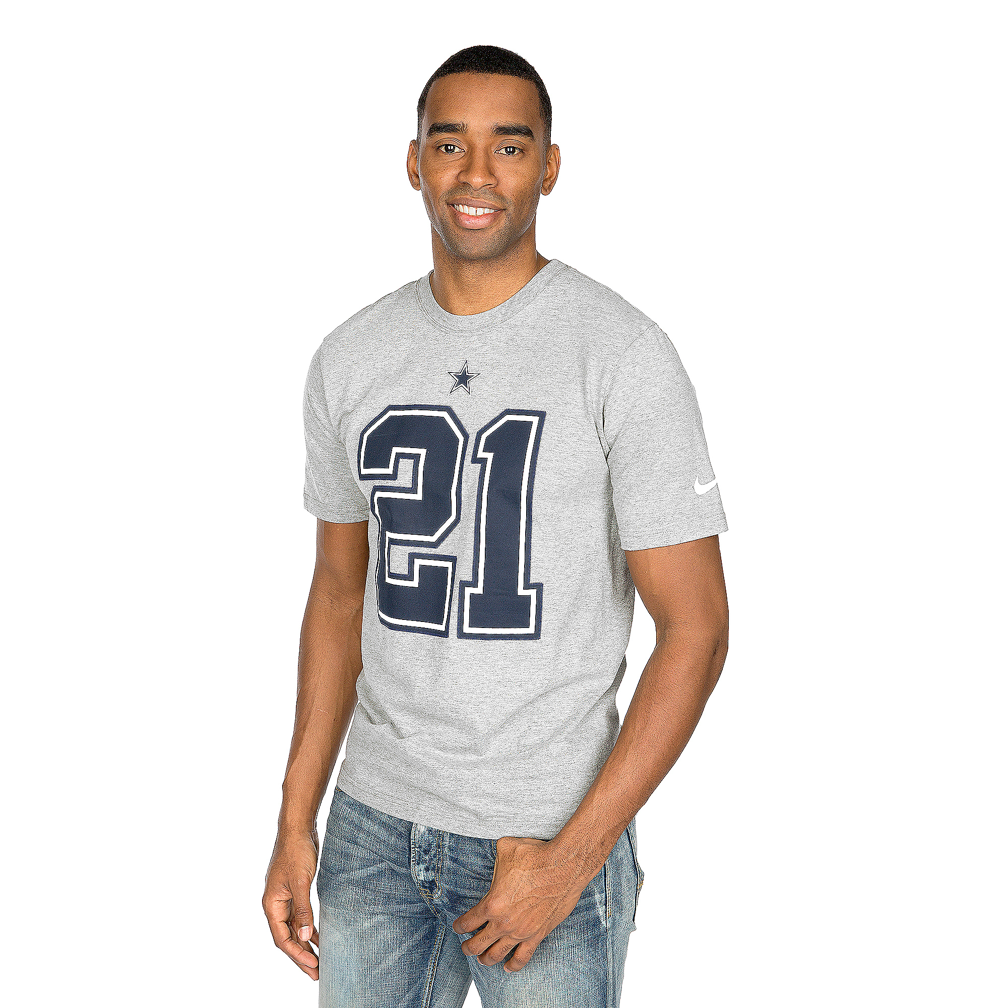 Dallas Cowboys Nike Ezekiel Elliott #21 Player Pride Tee