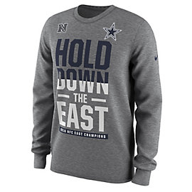 Dallas Cowboys Nike Mens 2016 NFC East Division Champs Long Sleeve Tee