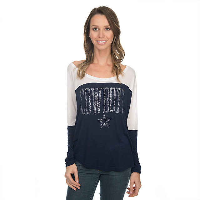 Dallas Cowboys Poole Long Sleeve Top