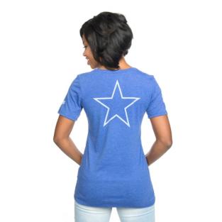Dallas Cowboys Nike Historic Pocket V-Neck Tee